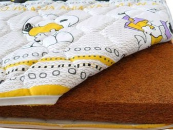 Кокосовий матрац для новонароджених і дітей до року