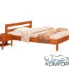 Двоспальне ліжко Альпіна 4177