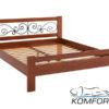 Двуспальная кровать Жасмин 4140