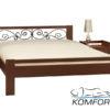 Двоспальне ліжко Жасмін 4141