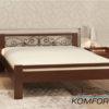 Двуспальная кровать Жасмин 4142