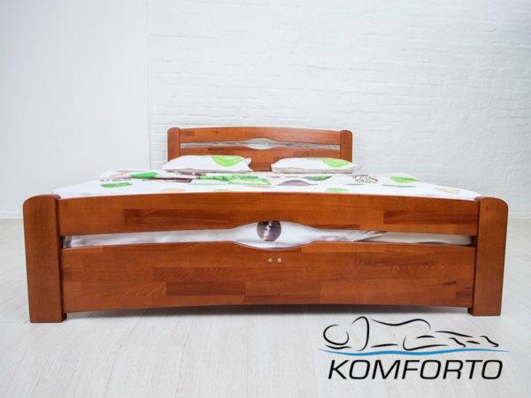 Ліжко Нова з узніжжям 160х200