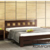 Двоспальне ліжко Сакура 4132