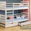Двоярусне ліжко Ларікс 4915