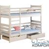 Двоярусне ліжко Ларікс 4916