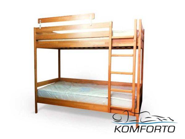 Двоярусне ліжко Дует