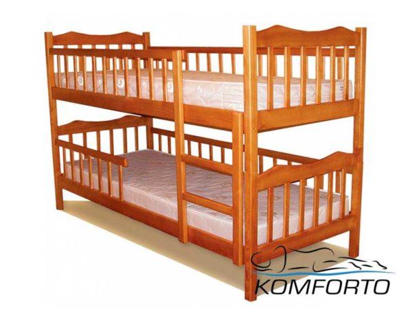 Двоярусне ліжко Рукавичка
