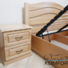 Ліжко Афіна Нова з підйомним механізмом 6827