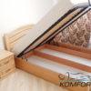 Ліжко Афіна Нова з підйомним механізмом 6833