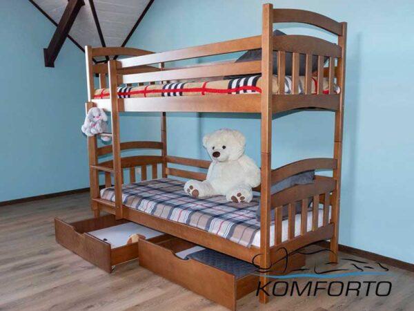 Двоярусне ліжко Бембі