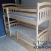 Двоярусне ліжко Бембі 6432