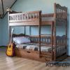 Двоярусне ліжко Рукавичка з підйомним механізмом