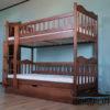 Двоярусне ліжко Рукавичка з підйомним механізмом 7841