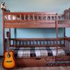 Двоярусне ліжко Рукавичка з підйомним механізмом 7842