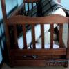 Двоярусне ліжко Рукавичка з підйомним механізмом 7845