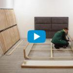 Відео інструкція по збиранню м'яких ліжок Річман