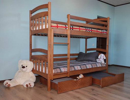 Основи при виборі двоповерхового ліжка