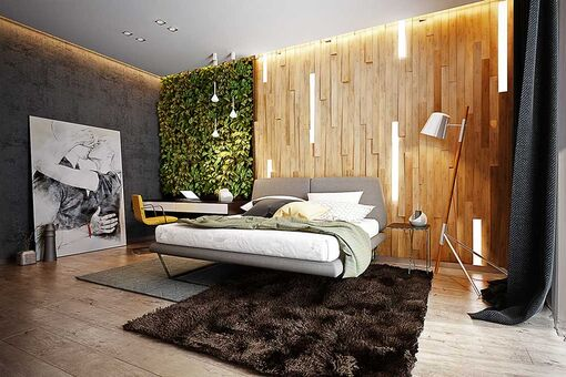 Інтер'єр спальної кімнати: вибираємо ліжка