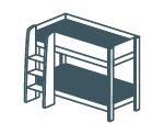 Кровати двоярусные