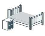Кровати и мебель для спальни