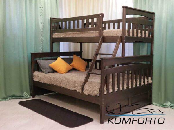 Двоярусне ліжко Русалонька