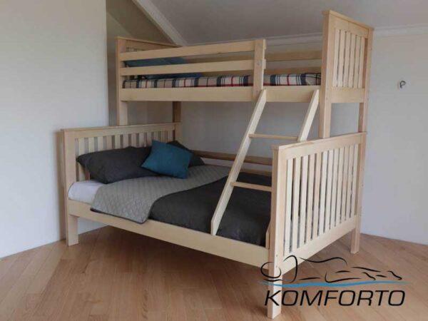 Двоярусне ліжко Орхідея