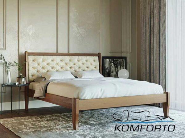 Кровать Монако М50 с мягкой спинкой