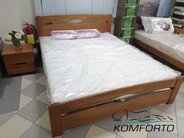 Ліжко Нова з узніжжям 140х200