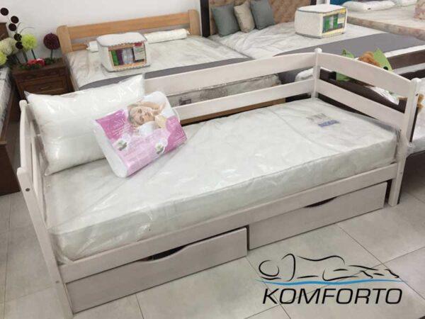 Ліжко Маріо з шухлядами